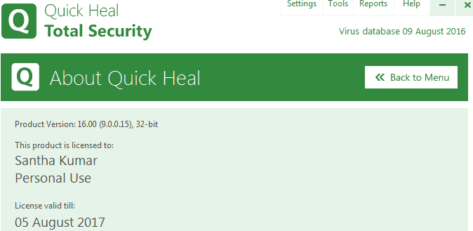 quick-heal-personal-licence