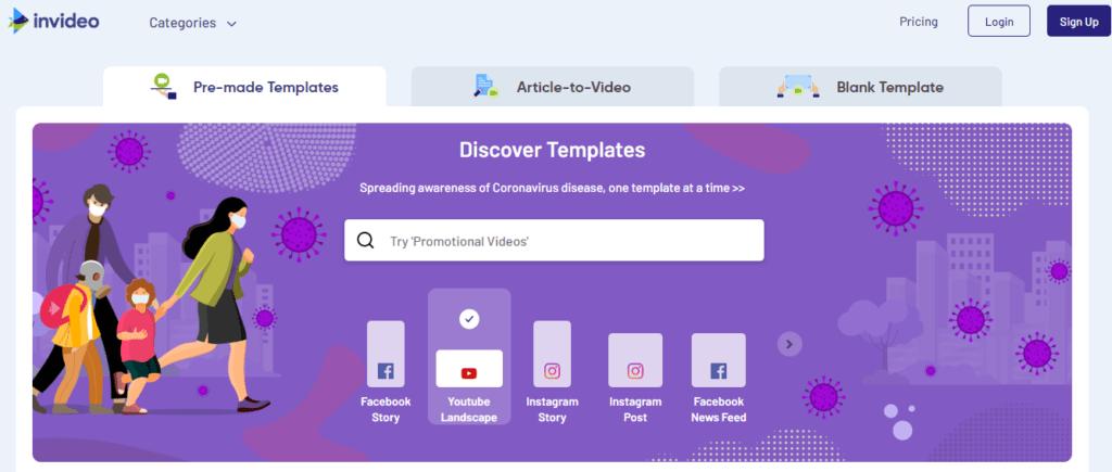 InVideo-Video-Editing-Tool